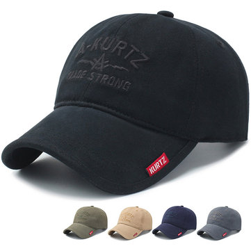 Wild Baseball Caps Soft Top Cap Outdoor Leisure Sun Hat With Embroidery Letters Caps