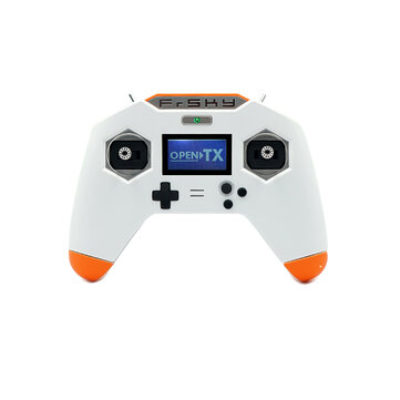 FrSky Taranis X-Lite S 2.4GHz 24CH White Transmitter with PARA Wireless Training Function and Quick-charge System for RC Drone