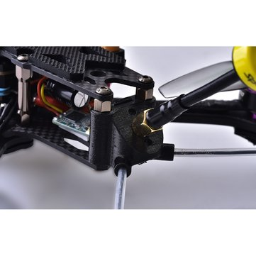 Speedybee 3D Printed FPV Antenna Mount 3 Holes Multiple ANT Mounting Bracket Fixing Seat SB-FRAME-ANT-MOUNT for RC Aircraft FPV Racing Drone Airplane Plane