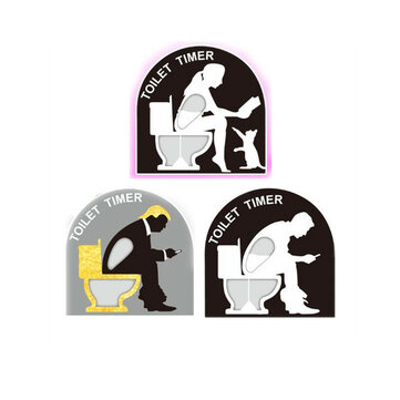 The Toilet Timer Hourglass Toilet Timer Decoration Creative Toy Christmas Gift Novelties Toys