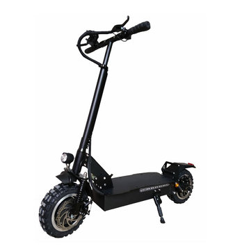 ZAPCOOL T103-1 23.4Ah 60V 1600W Folding Electric Scooter Top Speed 60km/h Max. 200kg Single Motor Front Wheel Shock Absorption Without Seat EU Plug