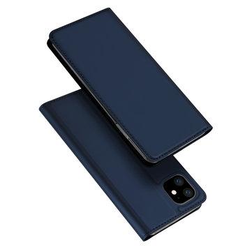 DUX DUCIS Flip magnetisk støtsikker med kortspor PU skinnbeskyttelsesetui til iPhone 11 Pro Max 6,5 tommer