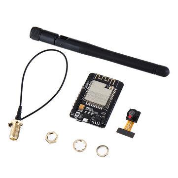 ESP32-CAM WiFi + bluetooth Camera Module Development Board ESP32 With Camera Module OV2640 IPEX 2.4G SMA Anten