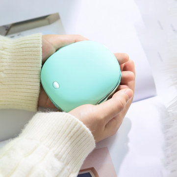 JISULIFE 2 in 1 USB Charging Portable Hand Warmer 2A Fast Charging 2 Speed Adjustment Heater from Xiaomi Ecological Chain