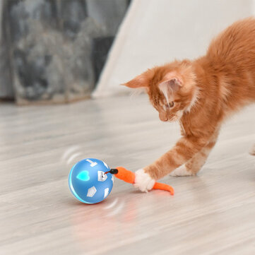 Bentopal USB Charging Smart Ball Smarts Sensor Balls Pet Toys Colorful Light Balls For Cat & Dog