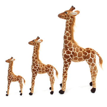 Buy Plush Giraffe Kid Toy Giant Large Stuffed Animal Doll Xmas Gift 60/70/120CM  with Litecoins with Free Shipping on Gipsybee.com