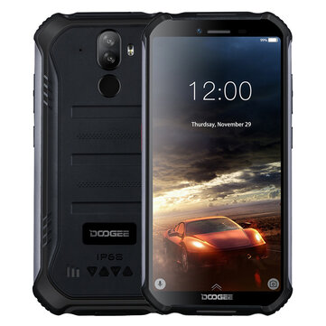 DOOGEE S40 lite Global Version 5.5 inch IP68 Waterdrop NFC Android9.0 4650mAh 2GB RAM 16GB ROM MT6580 Quad Core 4G Smartphone