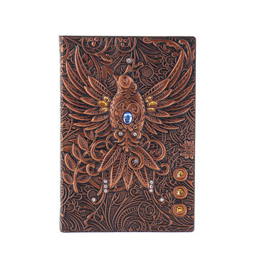 phoenix retro relief European retro notebook
