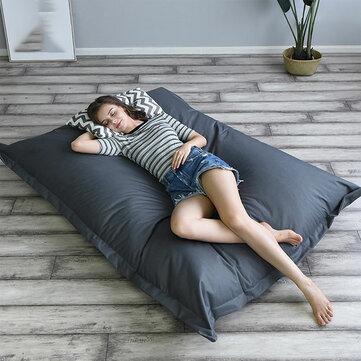 140 * 180 cm XXXL Outdoor Foldable Bean Bag Coat Multicolor Waterproof Oxford Cloth Lazy Sofa  Red