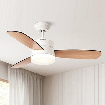 Opple Nordic Style Wooden Ceiling Fan, Dining Room Ceiling Fan