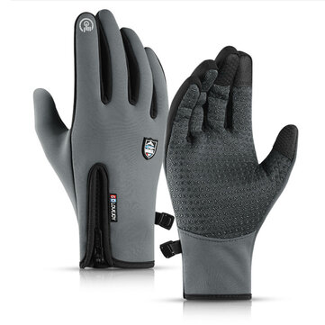 Winter Warm Thermal Gloves Non-slip Cycling Touchscreen Windrproof Waterproof Bike Glove