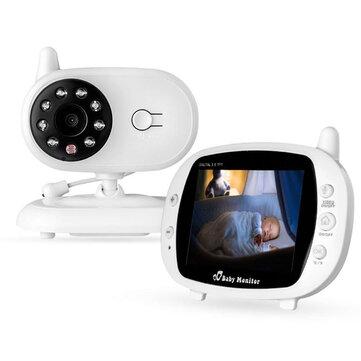 Προσφορά / Κουπόνι για το προϊόν: 3.5 inch Baby Monitor 2.4GHz Video LCD Digital Camera Night Vision Temperature Monitoring Monitors με τιμή 37.2€