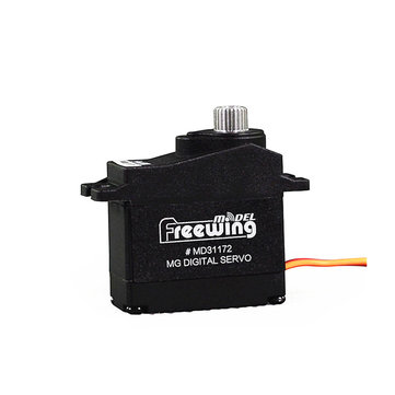 Freewing 17g Metal Gear Digital Servo CW/CCW for RC Airplane Fixed-wing Spare Part - CW 300mm