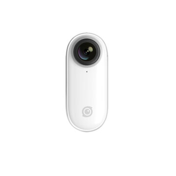 Insta360 GO 1080P Sports Action Camera Stabilized Auto Edit Hands free Water Resistant Slow mo Vlog Video Cam