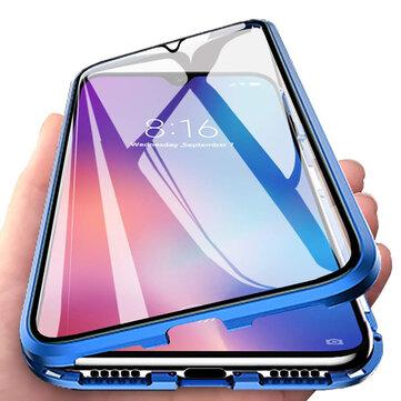 Bakeey 360º Mặt trước + Mặt sau Toàn thân hai mặt 9H Kính cường lực Kim loại từ tính hấp phụ Ốp lưng bảo vệ cho Xiaomi Mi A3 / Xiaomi Mi CC9E