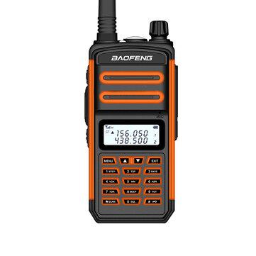 $29.99 for BAOFENG BF-S5plus 18W IP67 UV Dual Band Handheld Radio Walkie Talkie