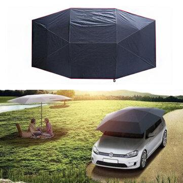 400x210cm Panno piegato UV di Oxford per parasole per tetto per auto