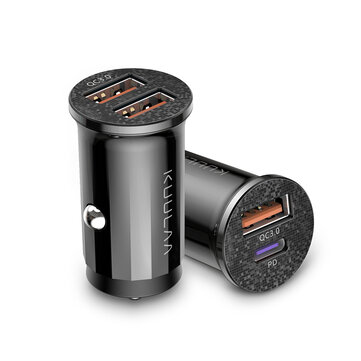 KUULAA 48W QC4.0 PD3.0 Car Charger