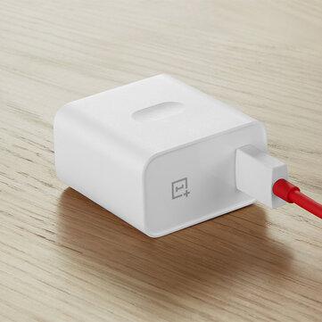 Oneplus 5V / 4A 30W Warp Charge Adattatore per caricabatterie USB a ricarica rapida con cavo dati 1m per Oneplus 7 Pro 6T 6 5T 5 XIAOMI MI8 MI9 S10 S10+