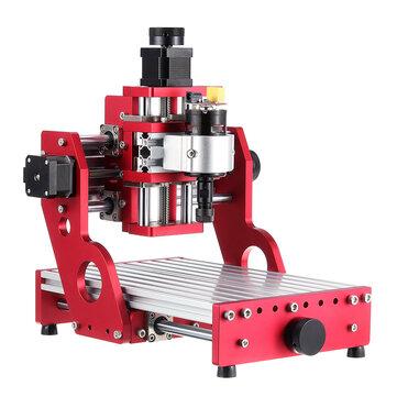 लाल 1419 3 अक्ष मिनी DIY सीएनसी रूटर मानक तकला मोटर लकड़ी पर नक्काशी उत्कीर्णन मशीन मिलिंग लकड़ी Woodworking