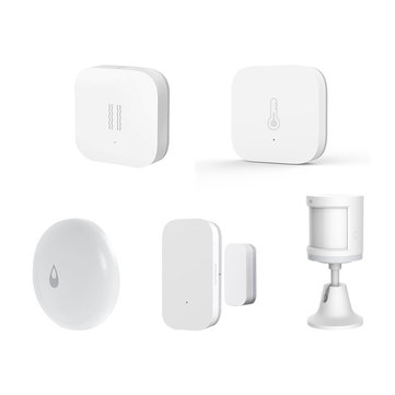 Original Aqara Full-Enjoy Smart WIFI Wireless Sensor Kits Temperature Humidity Monitor PIR Door Window Sensor Vibration Sensor Water Level Detector