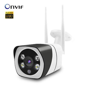 Xiaovv Q10 Inteligentní 1080P PT 360 ° panoramatická WiFi kamera ONVIF plně barevná AP hotspot vypnuto Sledování sítě IR noční verze vodotěsná venkovní IP kamera Domácí dětské monitory