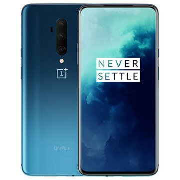 OnePlus 7T Pro Global Rom 6.67 inch 90Hz Fluid AMOLED Display HDR10+ Android 10 NFC 4085mAh 48MP Triple Rear Cameras 8GB RAM 256GB ROM UFS 3.0 Snapdragon 855 Plus Octa Core 2.96GHz 4G Smartphone