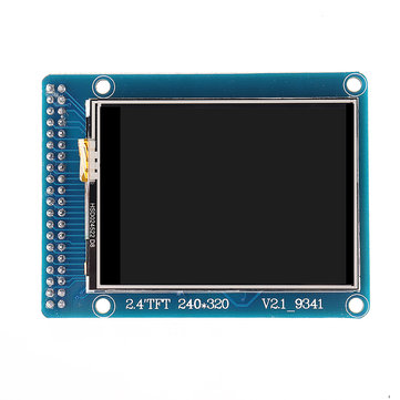2.4 Inch Touch TFT LCD Color Screen Module ILI9341 240*320 Display Card For Arduino Development Board
