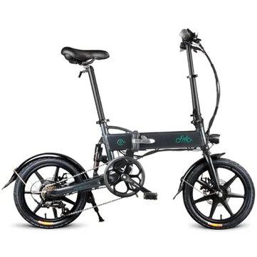 [EU Direct] FIIDO D2S skiftversion 36V 250W 7.8Ah 16 tum Fällbar mopedcykel 25 km / h Max 50 km Elektrisk cykel