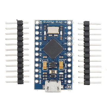 Pro Micro 5V 16M Mini Leonardo לוח פיתוח מיקרו בקר Geekcreit לארדואינו - מוצרים העובדים עם לוחות Arduino הרשמיים