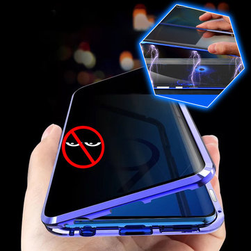 Buy Bakeey Anti-peeping Magnetic Adsorption Metal Double-sided Tempered Glass Protective Case For Xiaomi Mi9T / Xiaomi Mi 9T Pro / Redmi K20 / Redmi K20 PRO with Litecoins with Free Shipping on Gipsybee.com