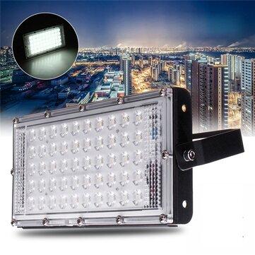 50W LED Banjir Cahaya Waterproof Outdoor Garden Landscape Sepak Bola Lampu AC220V