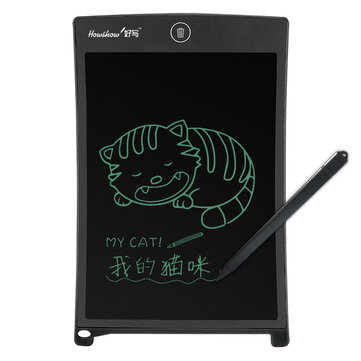 $7.49 for HOWSHOW 8.5 Inch LCD Update Multi function Writing Tablet 3 in 1 Mouse Pad Magnetic Note board Wireless Touch Handwriting Pads