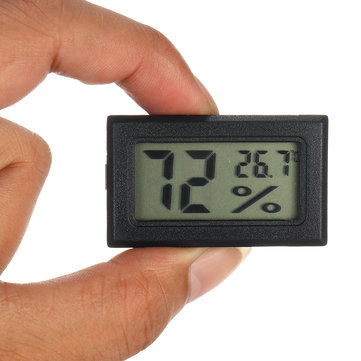 DC1.5V Mini Electronic Thermometer Hygrometer Portable LCD Digital Humidity Temperature Monitor