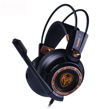 SOMiC G941 Virtual 7.1 Surround USB Gaming Headphone LED Backlight...