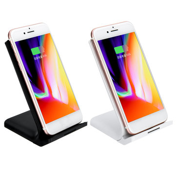 10W Qi Wireless Charger Fast Charging Base Stand For iPhone 8 X XR XS Max For Samsung Galaxy S8 S9 S10 Plus S10e Note 8 9 S7