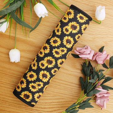 Sunflower Universal Car Safety Seat Belt Cover Neoprene Interior Accessories Fashion