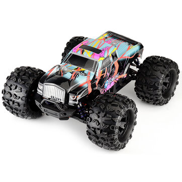 Eachine EAT02 1_8 4WD 2.4G RC Car Brushless Big Foot High Speed 90km_h Drift Vehicle Models Truck Metal Chassis