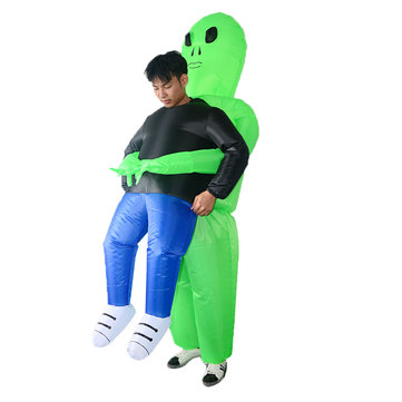 Buy Adult Inflatable Costume Halloween Blow Up Suit Party Fancy Dress Alien Toys Clothes Decorations with Litecoins with Free Shipping on Gipsybee.com