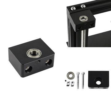Piombo in alluminio asse Z Vite supporto cuscinetto a Z con alloggiamento cuscinetto per stampante 3D Creality 3D CR-10 Enedr-3/Pro