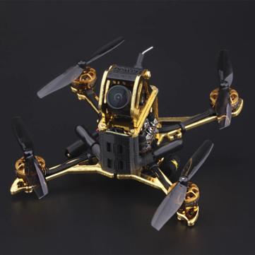 FLYWOO XBOT65/XBOT65-HD 103mm 4S 65MM FPV Racing RC Drone Toothpick BNF RUNCAM NANO 5.8G RHCP GOKU411 BLHELI 13A IRC Tramp VTX NIN 1103 MOTOR