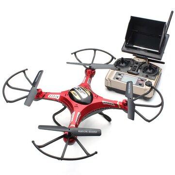 JJRC H8D 5.8G FPV avec 2MP HD Drone RC à 6 axes 2.4G 4CH Quadricoptère RTF