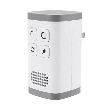 AC110-240V Plug-in Luftrenser Ozon Generator Ionizer Ren industriel kvalitet Lugtfjerner Luftrenser Negativ iongenerator til allergier Røgform Støv Lugt Kæledyr