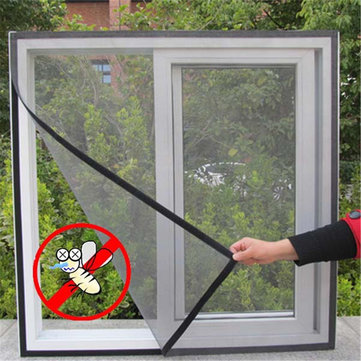 $16.99 for10pcs Fly Bug Insect Curtain Mesh Bug Mosquito Door Window Sticky Netting Wire Mesh Screen Protector