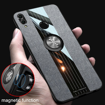 Bakeey Armor Shockproof Magnetic Ring Stand Cloth Protective Case For Xiaomi Mi 9T / Mi9T PRO /  Xiaomi Redmi K20 / Redmi K20 Pro