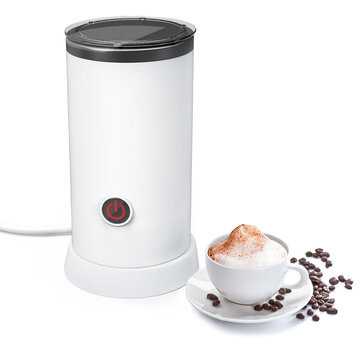 Digoo DG HS005 Electric Milk Frother Machine Warmer 550W Automatic Milk Heating 240ml Stainless Steel Inner Foam Maker Coupon Code and price! - $43