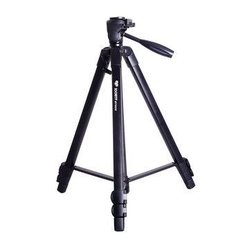 100BTF BY858 Foldable 56CM 150CM Tripod with Removable Ball Head Quick Release Plate Max Load 10KG