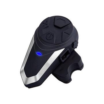BT S3 1000m Motorcycle Helmet BT Intercom Waterproof FM Wireless Interphone Coupon Code and price! - $43.56