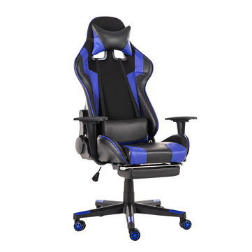 Ergonomic High Back Office Chair Racing Style Reclining Chair Adjustable...