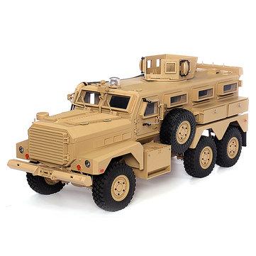 HG P602 Yükseltilmiş Işık Ses Fonksiyonu 1/12 2.4G 6WD 16CH Elektrikli RC Modeli Araba Araçlar olmadan Puma için Batarya Şarj